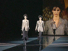 Armani Fashion-Show im TV