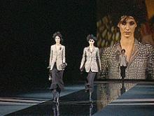 Armani Fashion-Show im TV